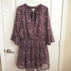 Speechless Floral Tunic Dress